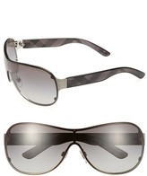 Burberry 63mm Rimless Shield Sunglasses