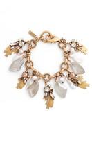 Badgley Mischka Women's Crystal & Pearl Bracelet