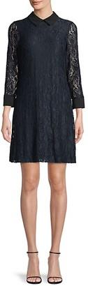Tommy Hilfiger Paisley Lace Mini Dress