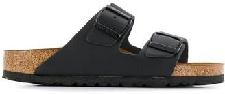 Birkenstock buckle strap sandals