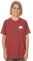 Billabong Kids Boys Vibes Tee Red
