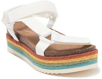 Madden-Girl Cambridge Rainbow Espadrille Sandal