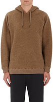 Robert Geller MEN'S WOOL-BLEND HOODIE