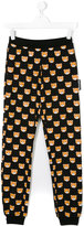 Moschino Kids Teddy print track pants