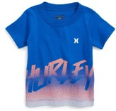 Hurley Infant Boy's Bitmapped Graphic T-Shirt
