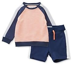 Sovereign Code Boys' Stan Color-Blocked Sweatshirt & Deliver Color-Blocked Jogger Shorts - Baby