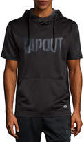 Tapout Short Sleeve Knit Hoodie