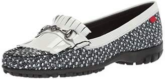 Marc Joseph New York Women's Golf Leather Made in Brazil Lexington Performance Fashion Shoe Moccasin