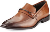 Kenneth Cole Shore Fit Leather Loafer, Cognac