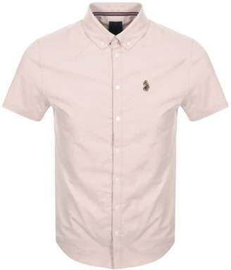 Luke 1977 Short Sleeved Jimmy Shirt Pink