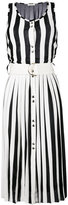 Nina Ricci pleated sleeveless dress - women - Silk/Spandex/Elastane/Viscose - S