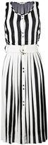 Nina Ricci pleated sleeveless dress - women - Viscose/Spandex/Elastane/Silk - S