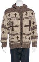 Wings + Horns Wool Hooded Sweater