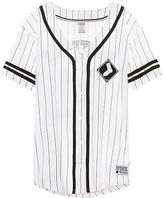 PINK Chicago White Sox Button Down Jersey