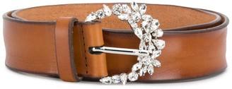 Orciani Wide Embellished Belt