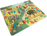 Trademark Baby Play Mat For Kids- Safari Animals, Letters & Numbers