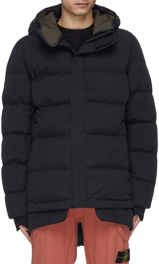 TEMPLA Hooded SympaTex puffer jacket