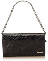 Celine Pre-owned: Embossed Leather Long Wallet.