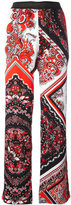 Just Cavalli paisley patterned trousers - women - Polyester/Viscose - 46