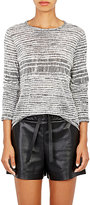 Proenza Schouler Women's Tissue-Weight Jersey T-Shirt-BLACK, WHITE