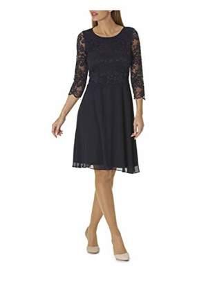Vera Mont Women's 0057/4825 Dress, Beet Red 46, (Size: 44)