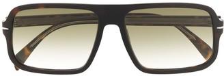 David Beckham Square-Frame Sunglasses
