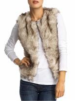 BB Dakota Garret Coyote Faux Fur Vest