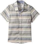 Quiksilver Aventail Short Sleeve Button Up Shirt Boy's T Shirt