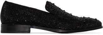 Alexander McQueen studded slip-on loafers