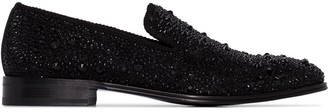 Alexander McQueen Studded Slip-On Loafers