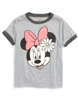 Mighty Fine Toddler Girl's Minnie Mouse Tee