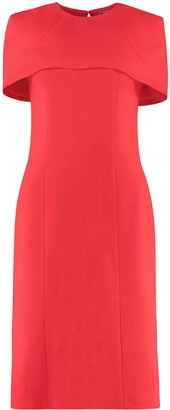 Givenchy Crepe Sheath Dress