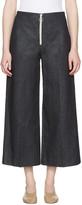 Harmony Indigo Denim Pina Zip Trousers