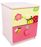 Teamson Magic Garden 2-Drawer Nightstand