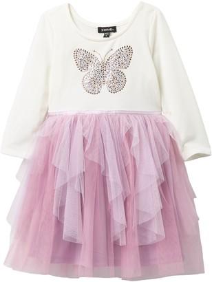 Zunie Cascade Skirt TuTu Dress (Toddler & Little Girls)