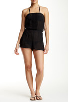 Laundry by Shelli Segal Solid Romper