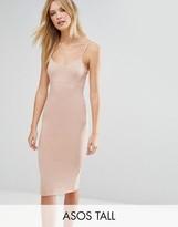ASOS Tall ASOS TALL Midi Cami Body-Conscious Dress