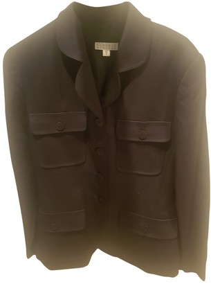 Barneys New York Black Wool Jacket for Women