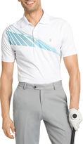 Izod Short-Sleeve Chambray Bay Golf Polo