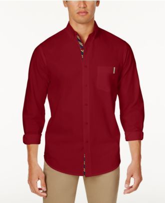 Club Room Men's Classic-Fit Solid Shirt, Created for Macy's