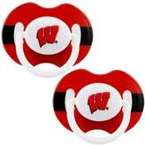 Baby Fanatic Wisconsin Badgers Pacifier - 2 Pack