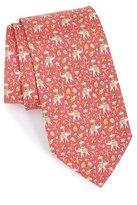Salvatore Ferragamo Floral Silk Tie