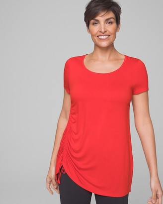 Soma Intimates Side Ruched Tunic Tee