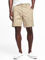 "Old Navy Built-In Flex Slim Ultimate Khaki Shorts for Men (8"")"