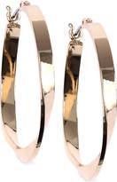 Nine West Twisted Hoop Earrings
