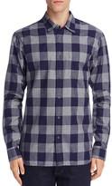 Scotch & Soda Slim Fit Plaid Button Down Shirt