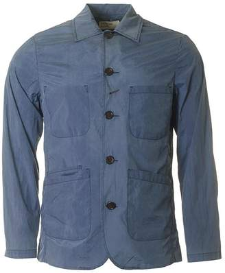 Universal Works Bakers Lightweight Nylon Jacket Colour: NAVY, Size: SM
