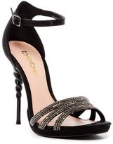 Bebe Braya Crystal Embellished Heeled Sandal