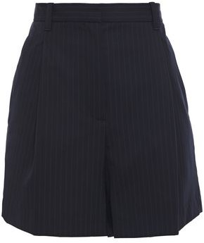 3.1 Phillip Lim Pinstriped Cady Shorts