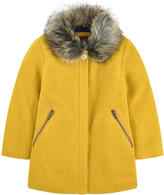 Catimini Woollen coat with lurex